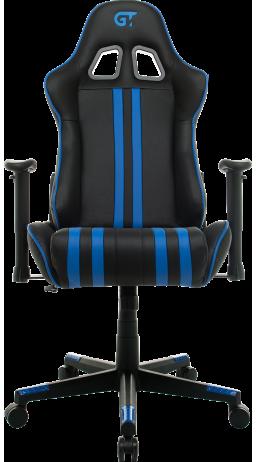 11Геймерське крісло GT Racer X-2504-M (Massage) Black/Blue