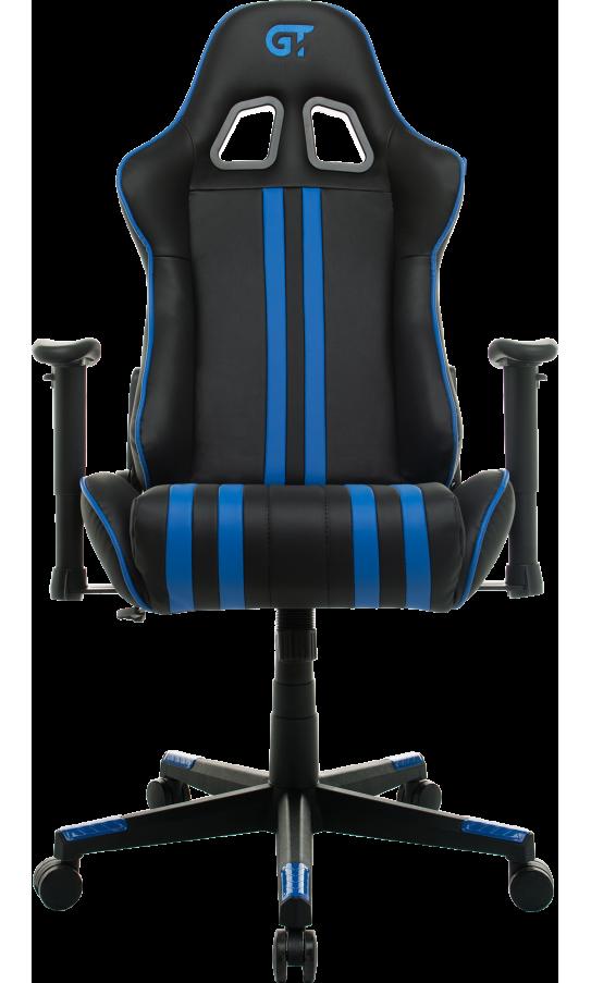 Геймерське крісло GT Racer X-2504-M (Massage) Black/Blue