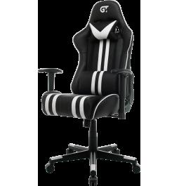 Геймерське крісло GT Racer X-2504-M (Massage) Black/White