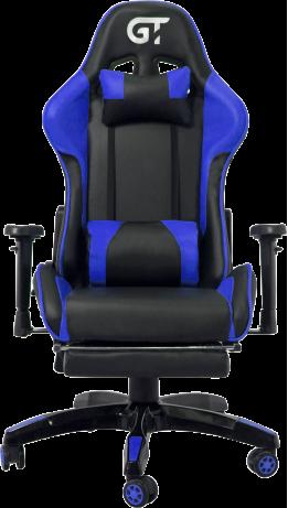 Геймерське крісло GT Racer X-2525-F Black/Blue