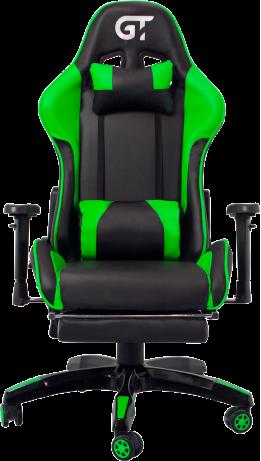 Геймерське крісло GT Racer X-2525-F Black/Green