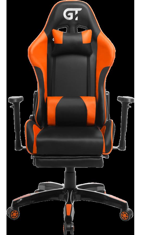 Геймерское кресло GT Racer X-2525-F Black/Orange