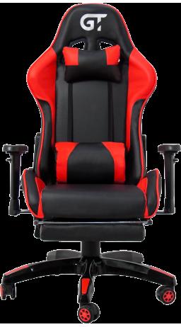 11Геймерське крісло GT Racer X-2525-F Black/Red