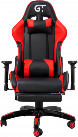 Геймерське крісло GT Racer X-2525-F Black/Red
