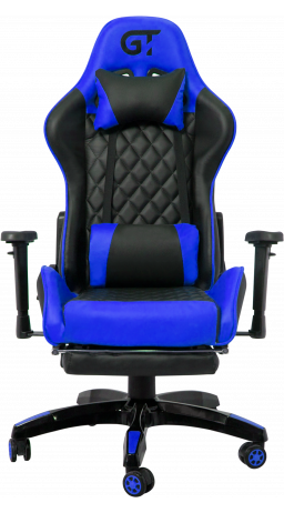 11Геймерське крісло GT Racer X-2526 Black/Blue