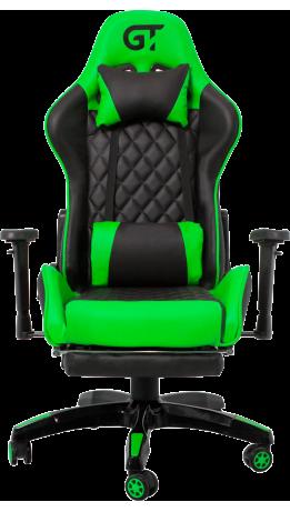 Геймерське крісло GT Racer X-2526 Black/Green