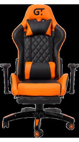 11Геймерське крісло GT Racer X-2526 Black/Orange