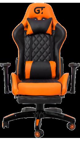 Геймерське крісло GT Racer X-2526 Black/Orange