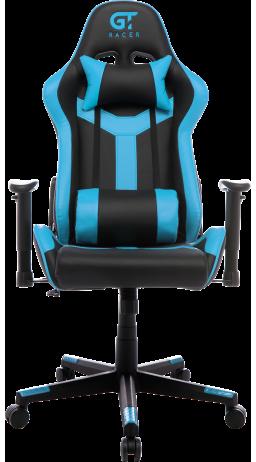 11Геймерське крісло GT Racer X-2527 Black/Blue