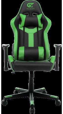 11Геймерське крісло GT Racer X-2527 Black/Green