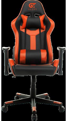 11Геймерське крісло GT Racer X-2527 Black/Orange