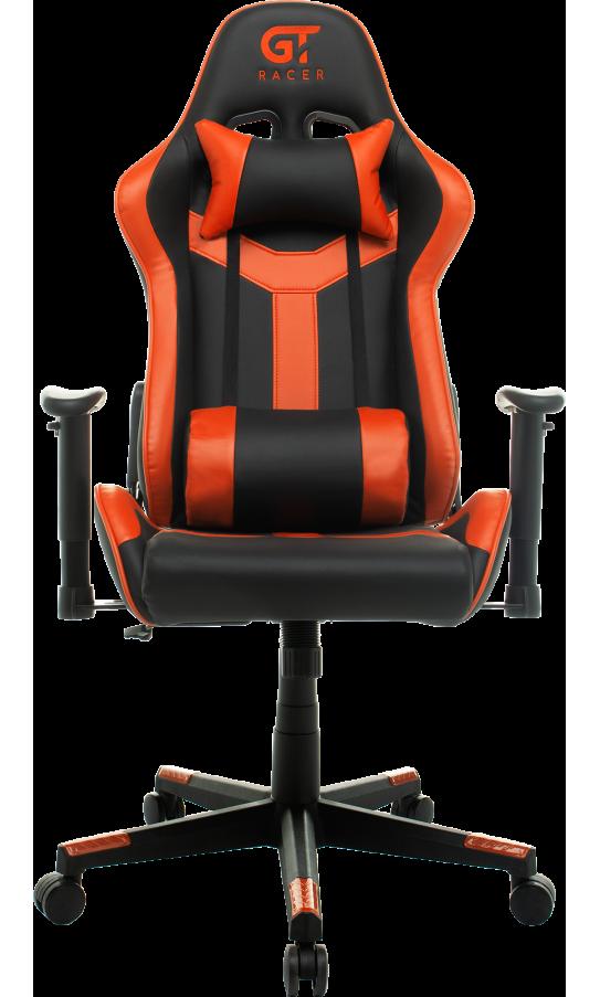 Геймерське крісло GT Racer X-2527 Black/Orange