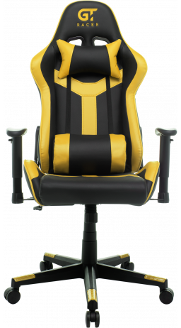 11Геймерське крісло GT Racer X-2527 Black/Yellow
