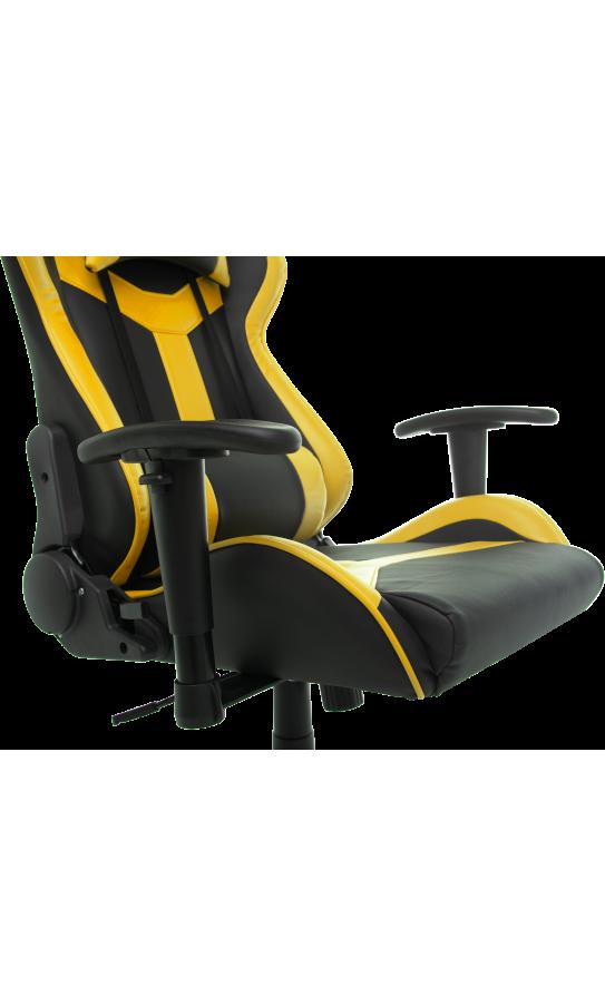 Геймерське крісло GT Racer X-2527 Black/Yellow