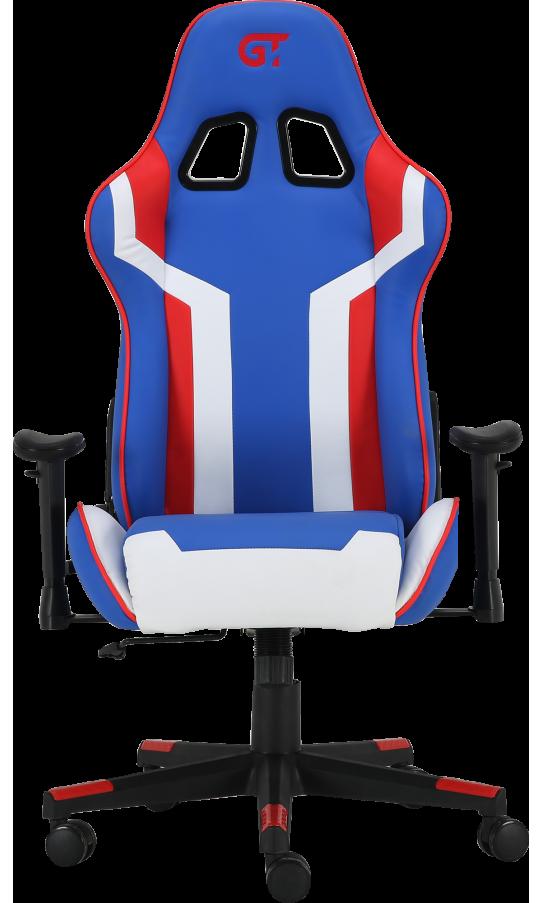 Геймерское кресло GT Racer X-2530 Blue/White/Red