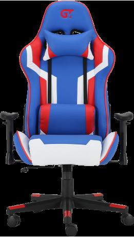 Геймерське крісло GT Racer X-2530 Blue/White/Red