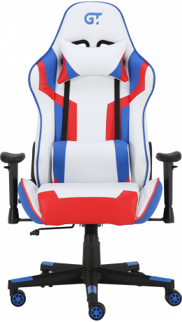Геймерське крісло GT Racer X-2530 White/Blue/Red
