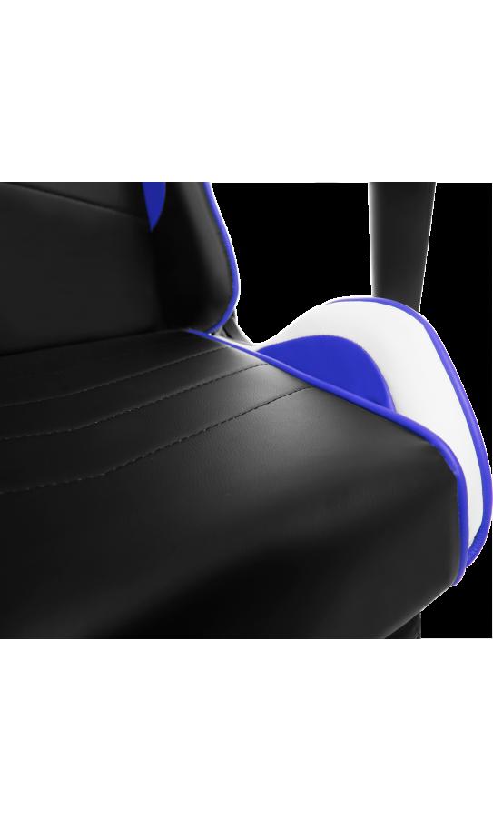 Геймерское кресло GT Racer X-2532-F Black/Blue/White