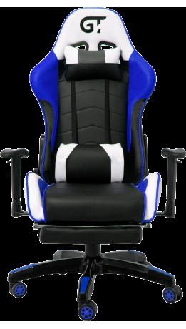 Геймерське крісло GT Racer X-2532-F Black/Blue/White
