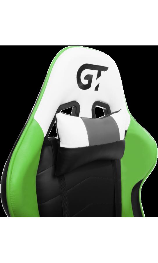 Геймерське крісло GT Racer X-2532-F Black/Green/White