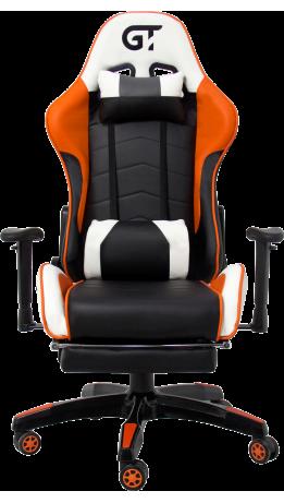 Геймерське крісло GT Racer X-2532-F Black/Orange/White