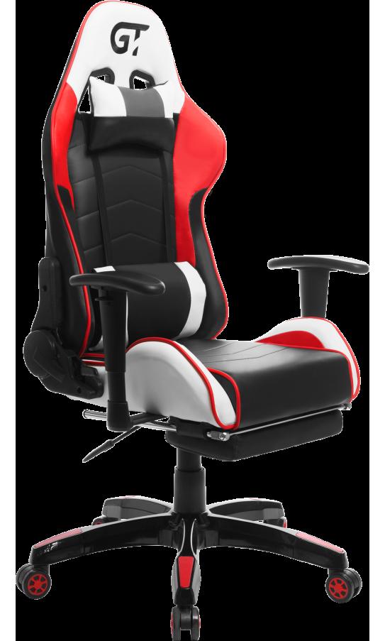 Геймерское кресло GT Racer X-2532-F Black/Red/White