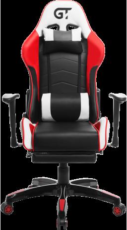 Геймерське крісло GT Racer X-2532-F Black/Red/White