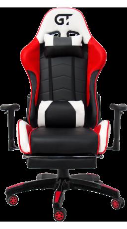 11Геймерське крісло GT Racer X-2532-F Black/Red/White