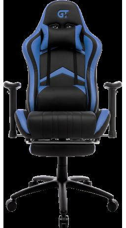11Геймерське крісло GT Racer X-2534-F Black/Blue