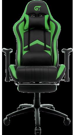 11Геймерське крісло GT Racer X-2534-F Black/Green