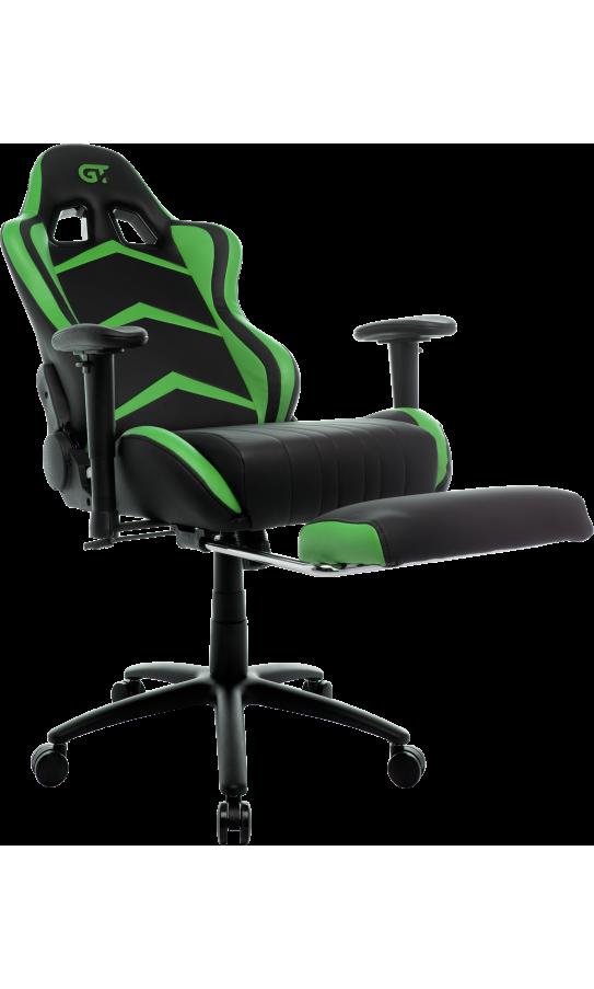 Геймерське крісло GT Racer X-2534-F Black/Green