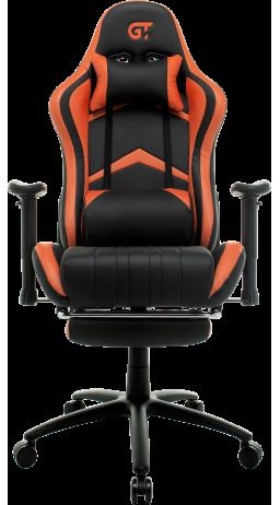 11Геймерське крісло GT Racer X-2534-F Black/Orange