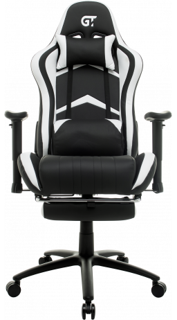 11Геймерське крісло GT Racer X-2534-F Black/White