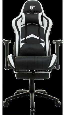 Геймерське крісло GT Racer X-2534-F Black/White