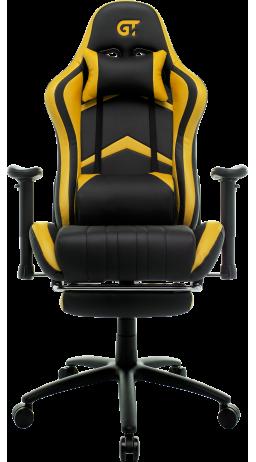 11Геймерське крісло GT Racer X-2534-F Black/Yellow