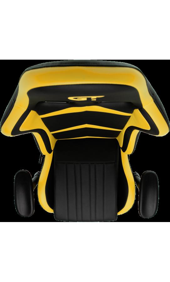 Геймерское кресло GT Racer X-2534-F Black/Yellow