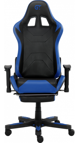 11Геймерське крісло GT Racer X-2535-F Black/Blue