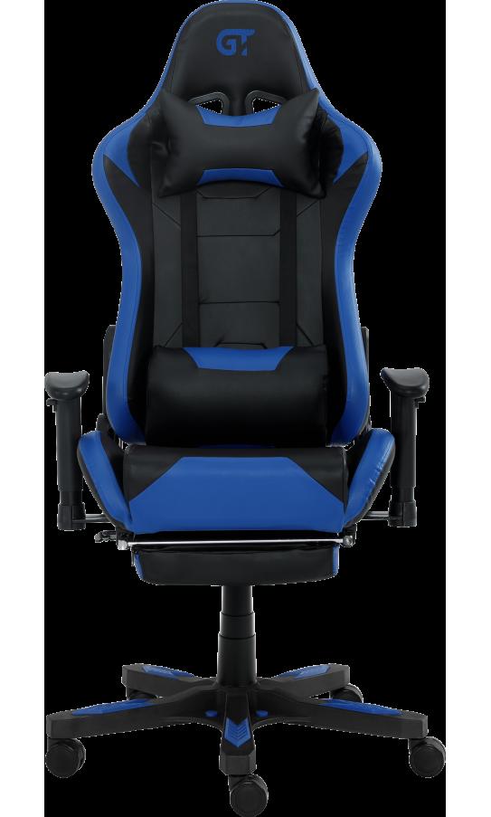 Геймерське крісло GT Racer X-2535-F Black/Blue