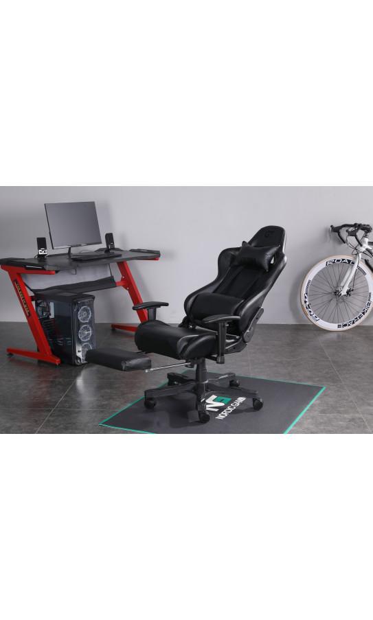 Геймерское кресло GT Racer X-2535-F Black/Carbon Black