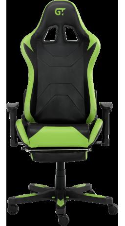 11Геймерське крісло GT Racer X-2535-F Black/Green