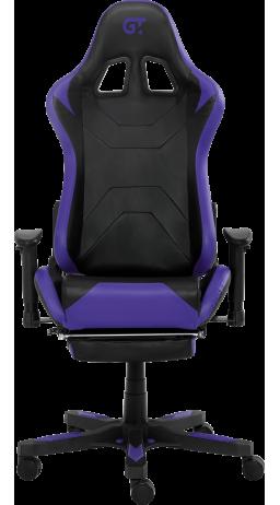 11Геймерське крісло GT Racer X-2535-F Black/Purple