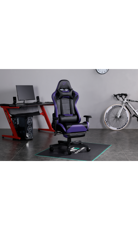 Геймерское кресло GT Racer X-2535-F Black/Purple