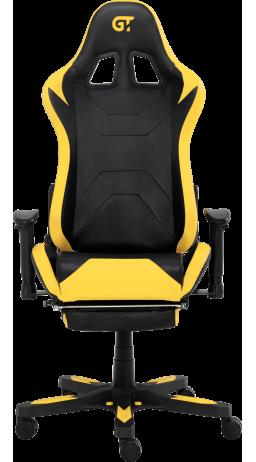 11Геймерське крісло GT Racer X-2535-F Black/Yellow