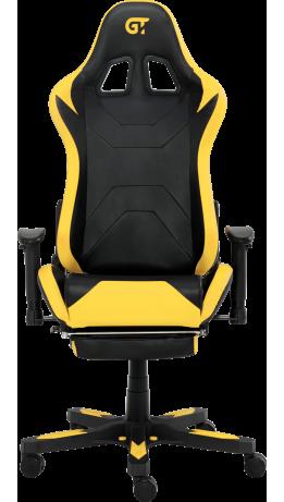 Геймерське крісло GT Racer X-2535-F Black/Yellow