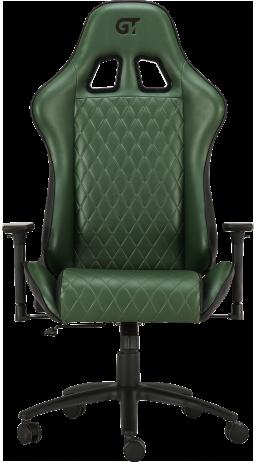 11Геймерське крісло GT Racer X-2540 Black/Dark Green