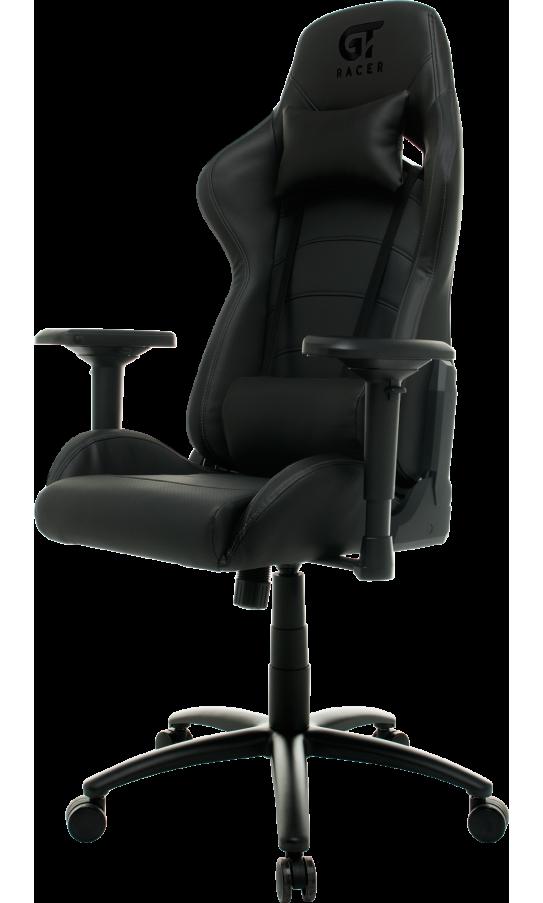 Геймерське крісло GT Racer X-2545MP (Massage) Black