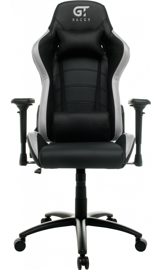 Геймерське крісло GT Racer X-2545MP (Massage) Black/Gray