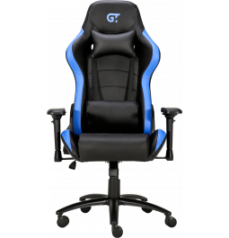 Геймерське крісло GT Racer X-2546MP (Massage) Black/Blue