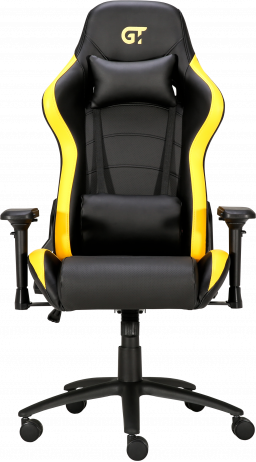 Геймерське крісло GT Racer X-2546MP (Massage) Black/Yellow