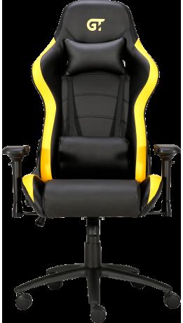 Геймерське крісло GT Racer X-2546MP (Massage) Black/Yellow